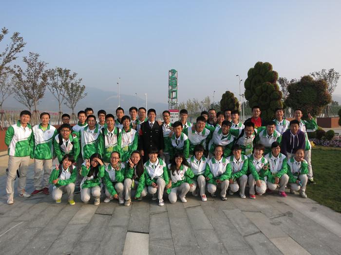 青岛科技大学志愿者:青春志愿行